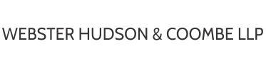 Webster Hudson & Coombe LLP Barristers and Solicitors - Integrity, leadership and problem solving.